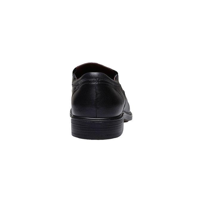Komfortné poltopánky z kože bata-comfit, čierna, 814-6934 - 17