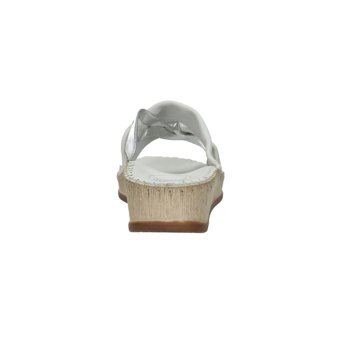 Dámske kožené sandále comfit, biela, 574-1248 - 17