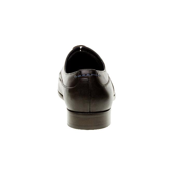Pánske kožené poltopánky bata, čierna, 824-6663 - 17