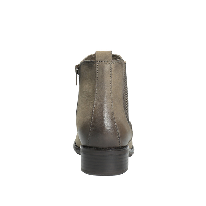 Dámska členková obuv bata, hnedá, 596-2603 - 17