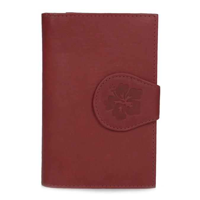 Dámska kožená peňaženka bata, červená, 944-5155 - 26