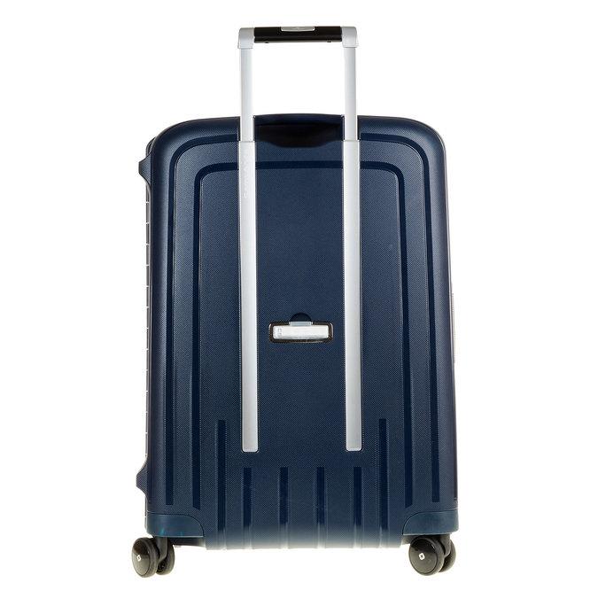 Kvalitný škrupinový kufor samsonite, modrá, 960-9322 - 26