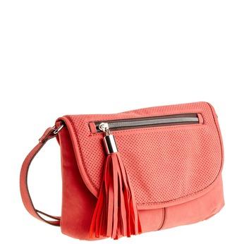 Crossbody kabelka so strapcom bata, červená, 961-5759 - 13