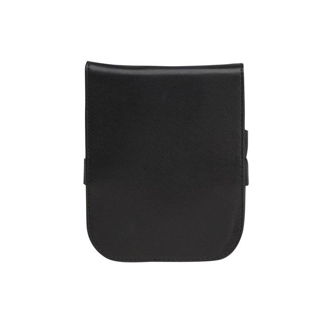 Manikúra v koženom púzdre bata, čierna, 944-6200 - 26