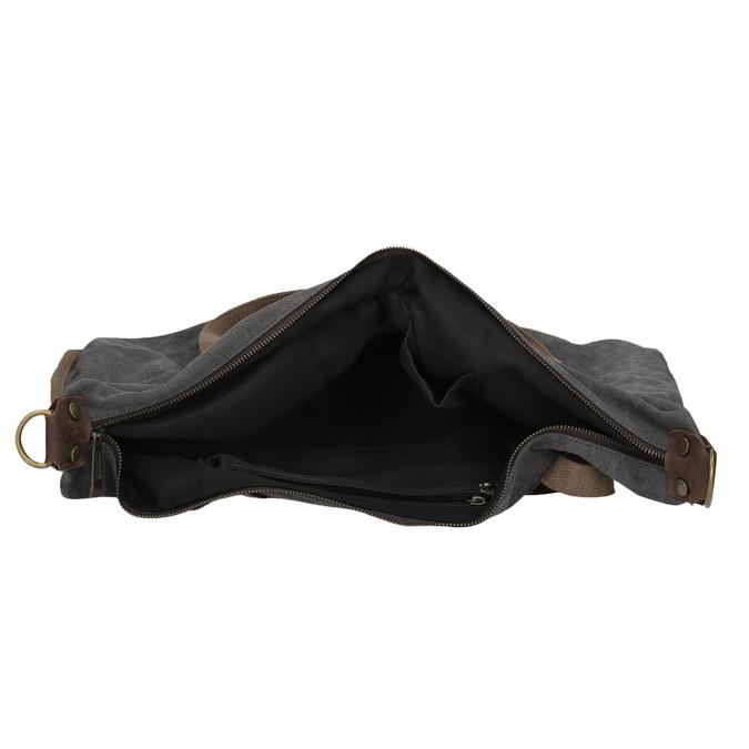 Veľká taška s popruhom weinbrenner, šedá, 969-2620 - 15