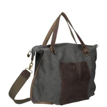 Veľká taška s popruhom weinbrenner, šedá, 969-2620 - 13