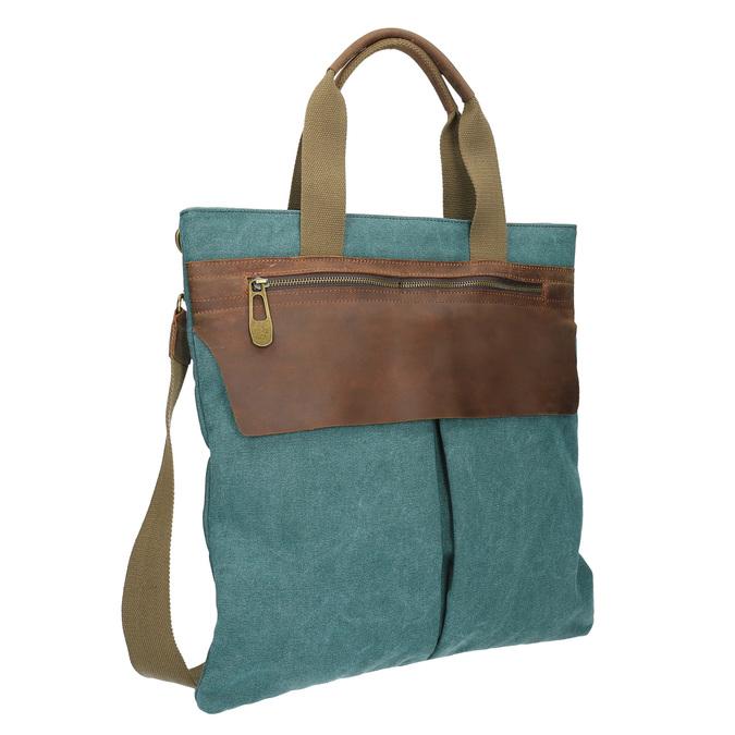 Textilná kabelka s popruhom weinbrenner, 969-9621 - 13