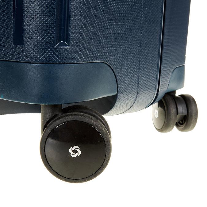 Kvalitný škrupinový kufor samsonite, modrá, 960-9322 - 19