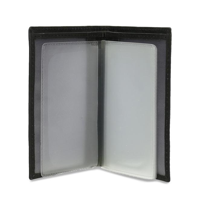 Kožené púzdro na karty bata, čierna, 944-6158 - 15