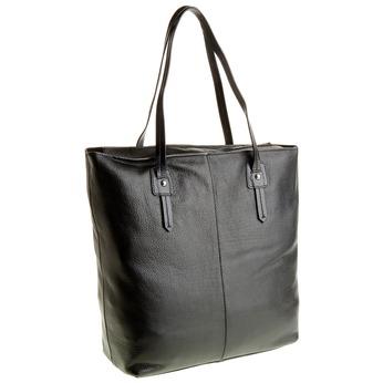 Dámska kožená kabelka bata, čierna, 964-6177 - 13