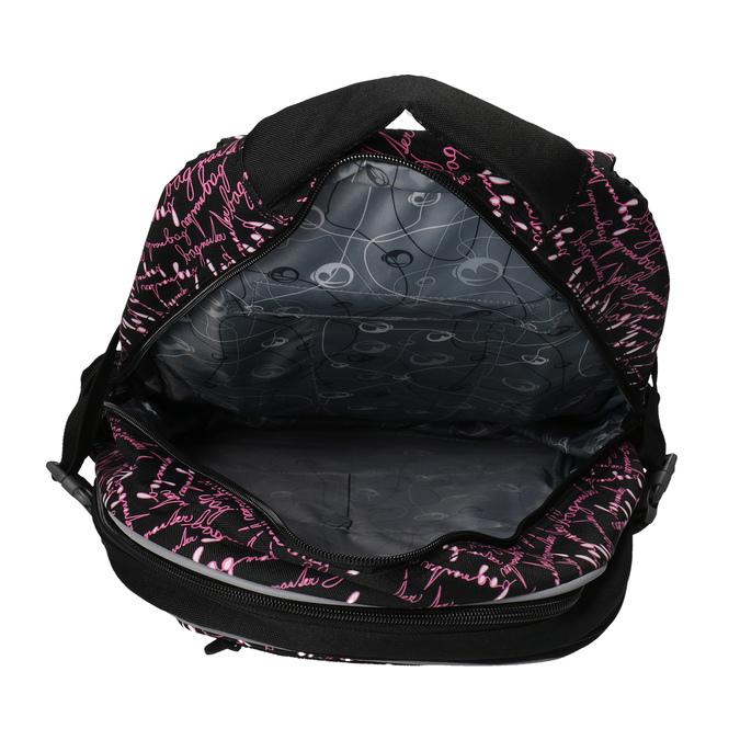 Školský batoh s potlačou bagmaster, čierna, 969-6602 - 17