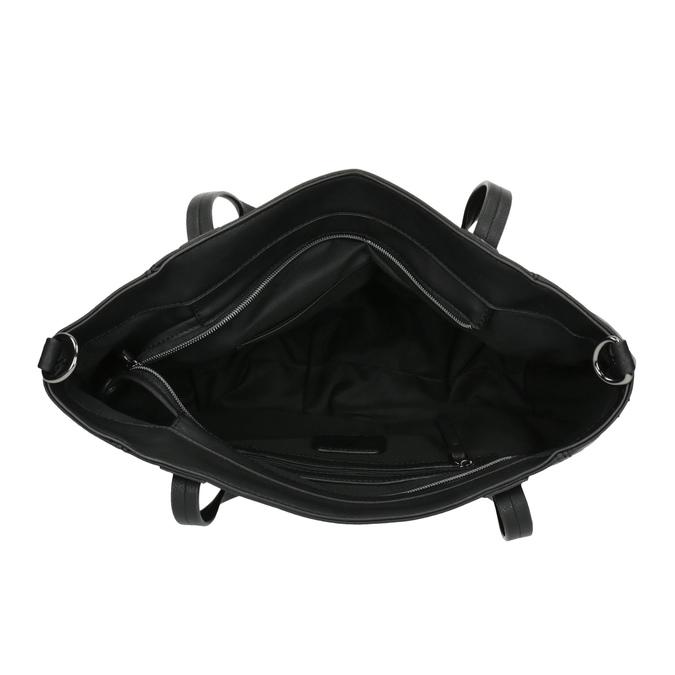 Dámska kabelka s kamienkami bata, čierna, 961-6247 - 15