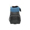 Dámska členková obuv bubblegummers, čierna, 111-6610 - 17