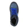 Detské členkovékové tenisky modré mini-b, modrá, 411-9600 - 19