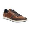 Ležérne kožené tenisky bata, hnedá, 844-4622 - 13