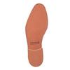Kožené poltopánky v ležérnom štýle bata, šedá, 824-2620 - 26