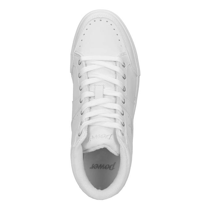 Biele členkové tenisky power, biela, 501-1400 - 19