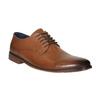 Pánske kožené poltopánky bata, hnedá, 826-3643 - 13