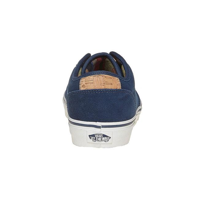 Pánske kožené tenisky vans, modrá, 803-9304 - 17