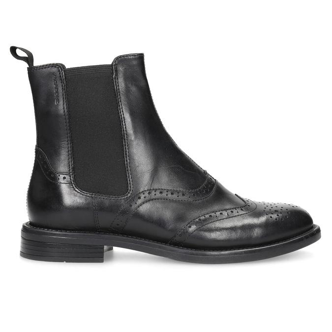 Kožené Chelsea Boots so zdobením vagabond, čierna, 514-6002 - 19