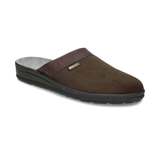 Pánska domáca obuv bata, hnedá, 879-4600 - 13