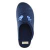 Dámska domáca obuv s výšivkou bata, modrá, 579-9603 - 19