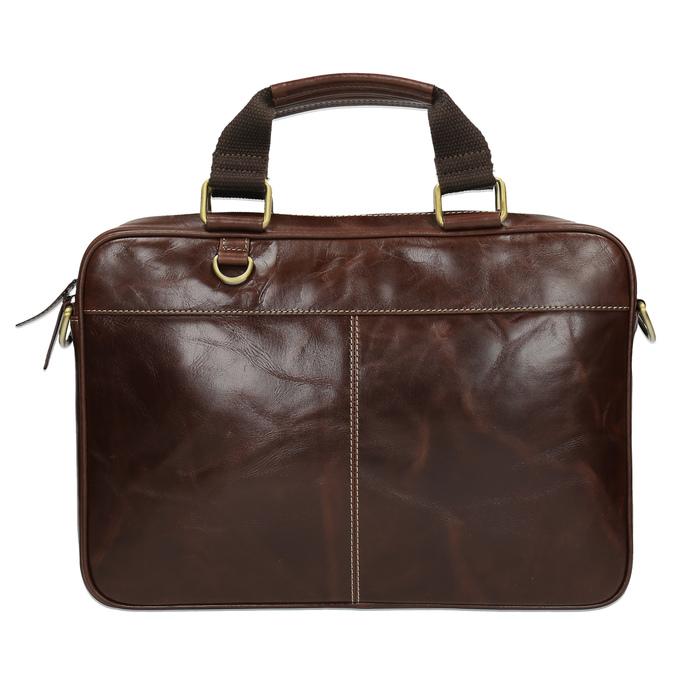Pánska kožená brašna bata, hnedá, 964-4204 - 19