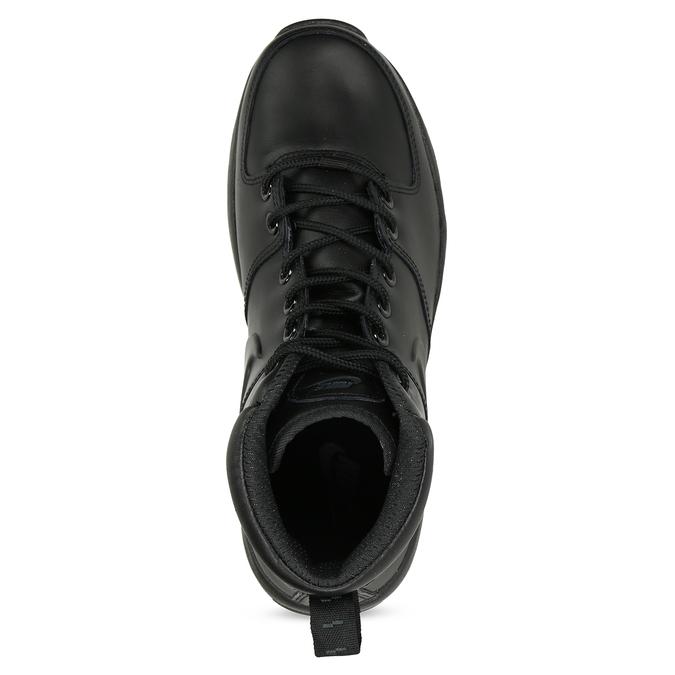 Kožená pánska členková obuv nike, čierna, 806-6435 - 17