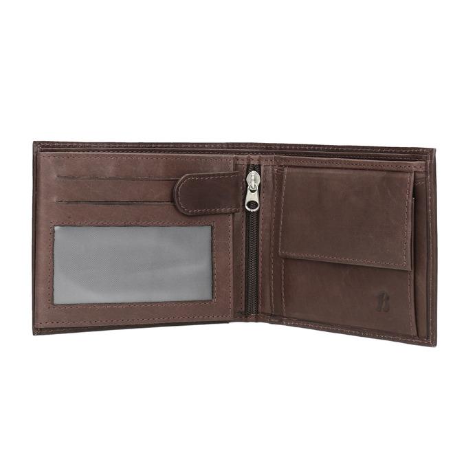 Pánska kožená peňaženka bata, hnedá, 944-4171 - 15