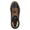 Kožené členkové tenisky so zateplením bata, hnedá, 896-4651 - 19