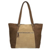 Dámska kožená kabelka bata, hnedá, 966-8200 - 26