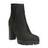 Dámska členková obuv na masivnom podpätku bata, čierna, 796-6634 - 13