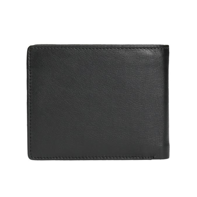 Pánska kožená peňaženka bata, čierna, 944-6170 - 19