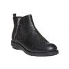 Kožená členková obuv flexible, čierna, 594-6227 - 13