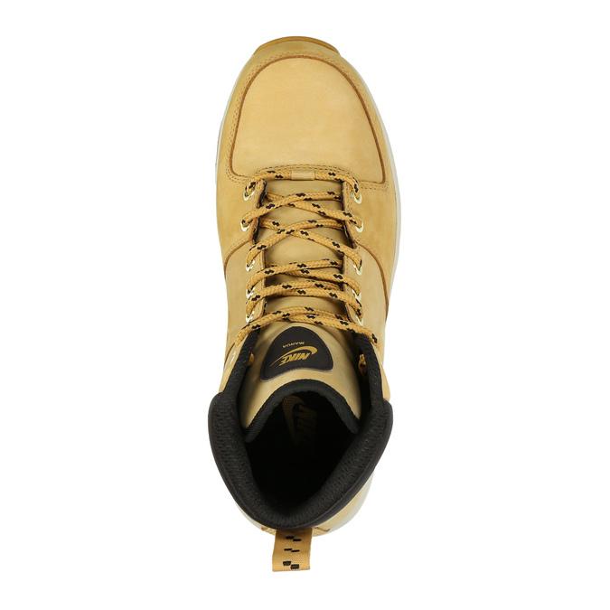 Kožená pánska členková obuv nike, hnedá, 806-8435 - 19