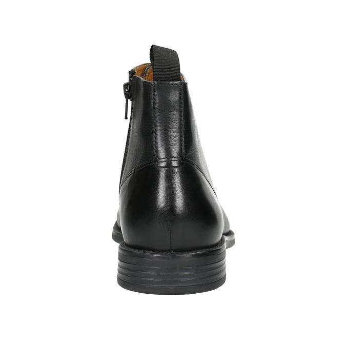 Kožená členková obuv vagabond, čierna, 894-6001 - 17