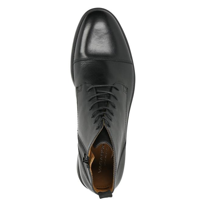 Kožená členková obuv vagabond, čierna, 894-6001 - 26