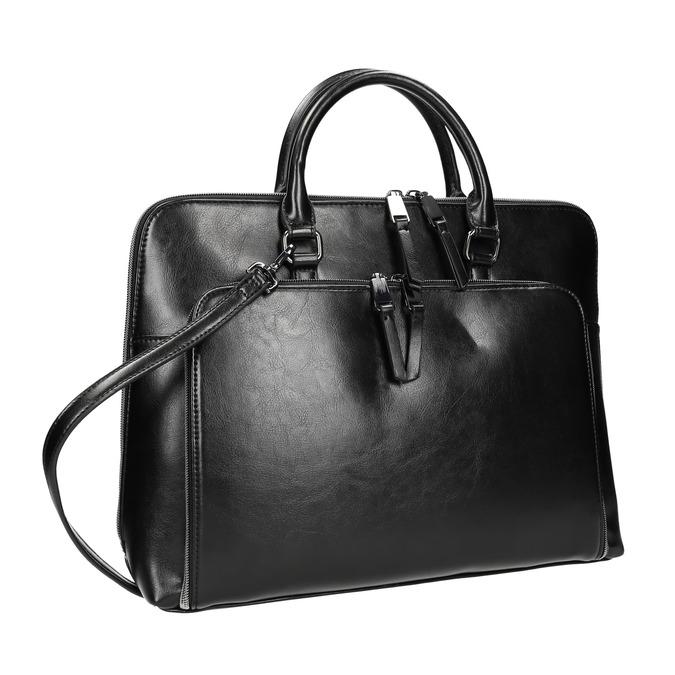 Elegantná taška do ruky bata, čierna, 961-6882 - 13