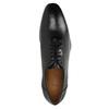 Čierne celokožené Oxfordky bata, čierna, 824-6788 - 19