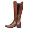 Dámske kožené čižmy bata, hnedá, 594-3586 - 19