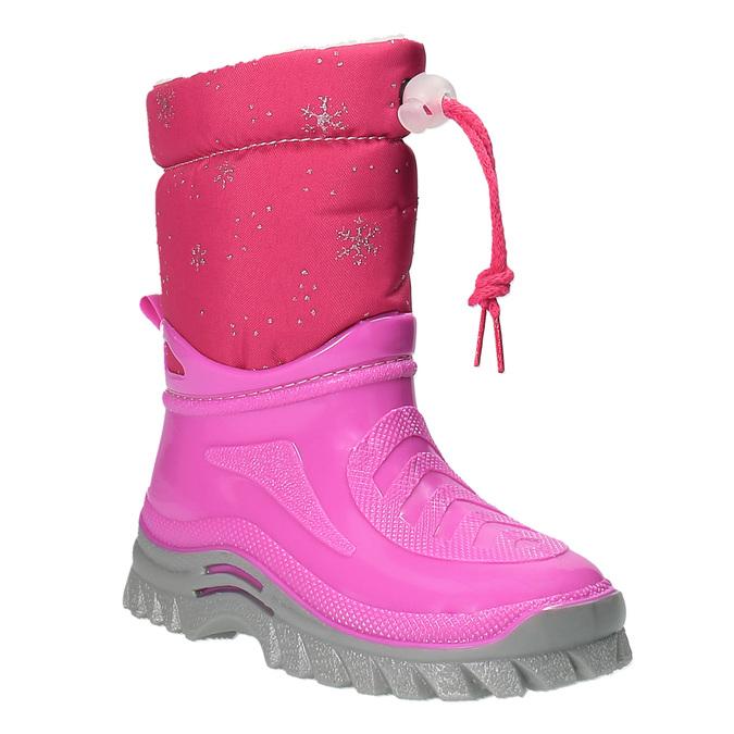 Detská zimná obuv so zateplením mini-b, ružová, 292-5201 - 13