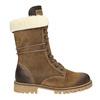 Dámska zimná obuv s kožúškom weinbrenner, hnedá, 593-8476 - 26