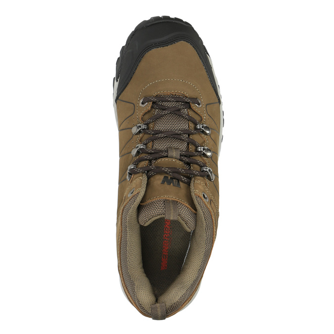 Pánska kožená Outdoor obuv weinbrenner, hnedá, 846-4600 - 19