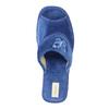 Dámska domáca obuv bata, modrá, 679-9606 - 19