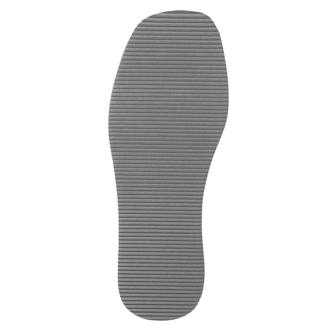 Pánska domáca obuv s plnou špicou bata, modrá, 879-9605 - 26