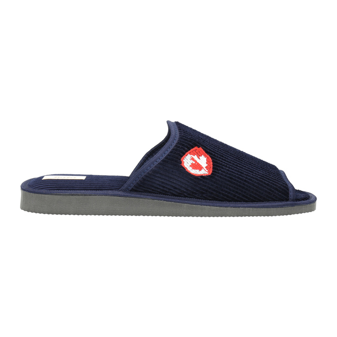 Pánska domáca obuv bata, modrá, 879-9608 - 15