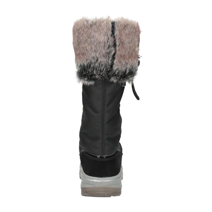 Snehule s masívnou podrážkou weinbrenner, čierna, 591-6615 - 17