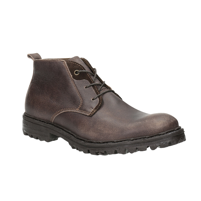 Pánska členková obuv weinbrenner, hnedá, 846-4603 - 13