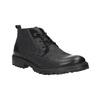 Kožená členková obuv weinbrenner, čierna, 844-6603 - 13