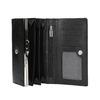 Dámska kožená peňaženka bata, čierna, 944-6357 - 15